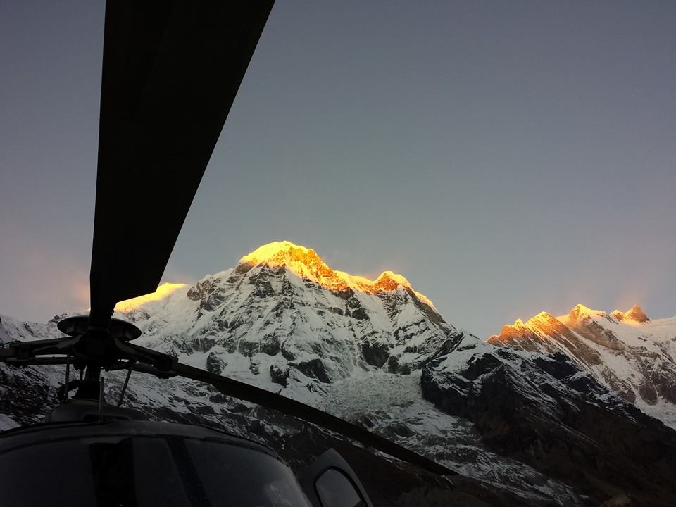 Everest Region Helicopter Tour