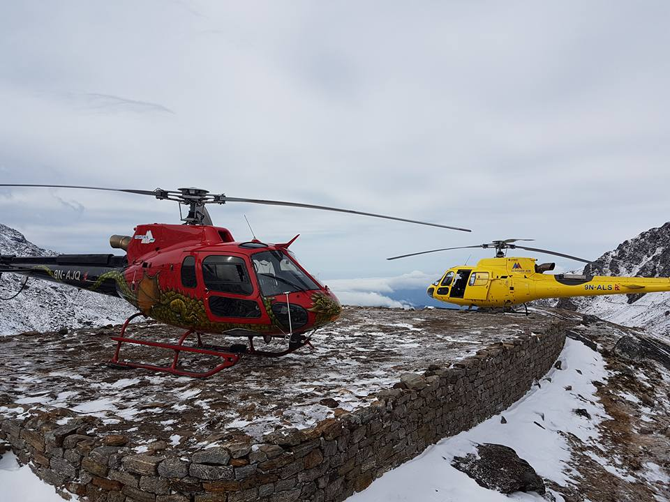 everest region Heli tour