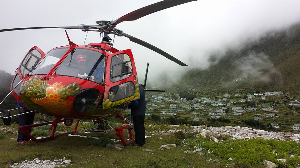 Everest Konge Heli Tour