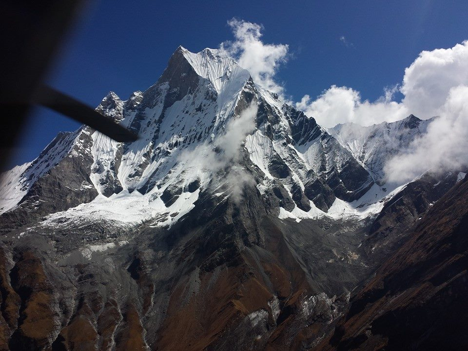 Annapurna South Base Camp Heli Tour