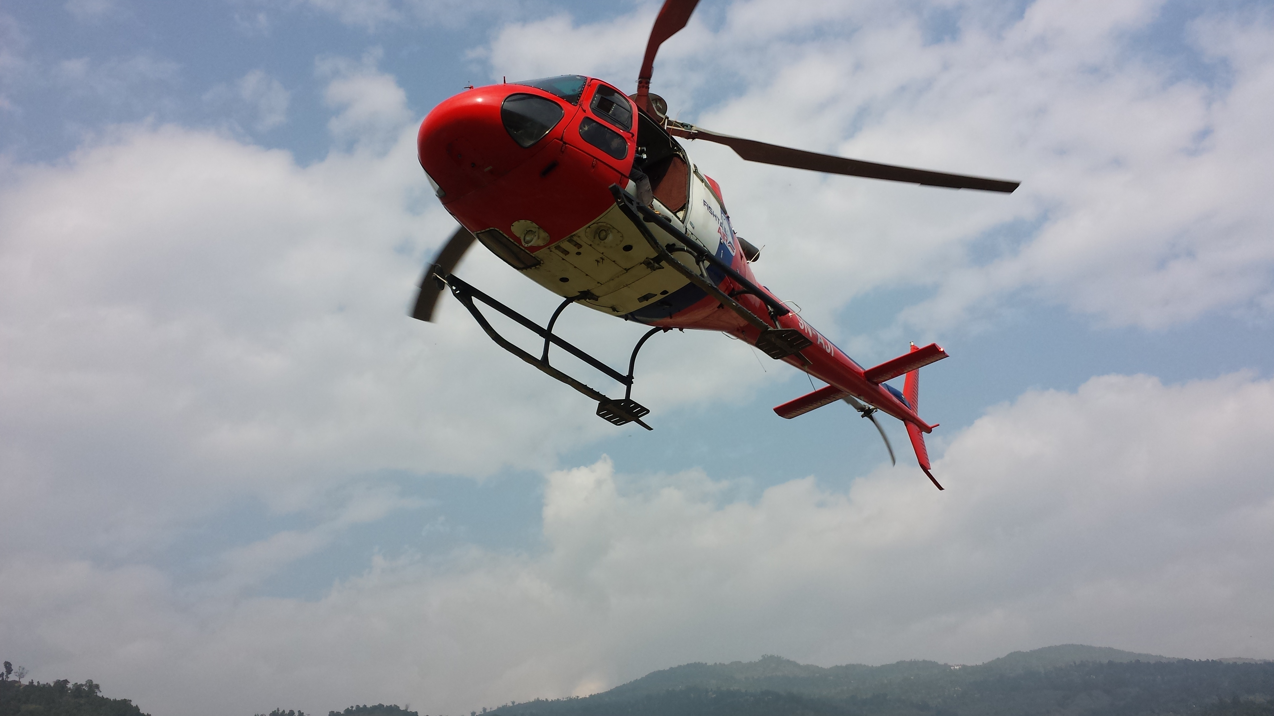 helicopter tour to Muktinath
