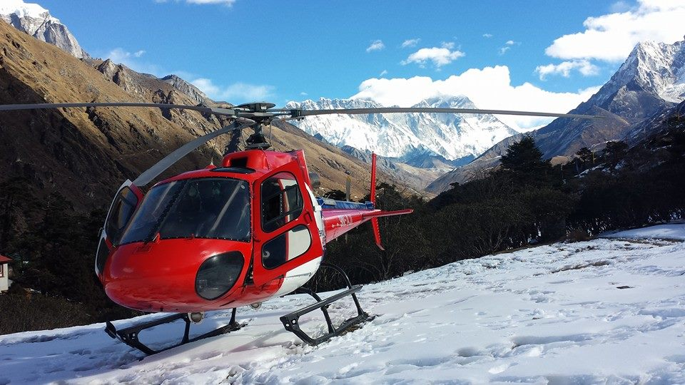 Syangboche Panoramic Heli Sightseeing Tour