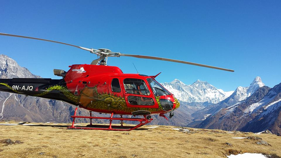 Everest Konge Panoramic Heli Sightseeing