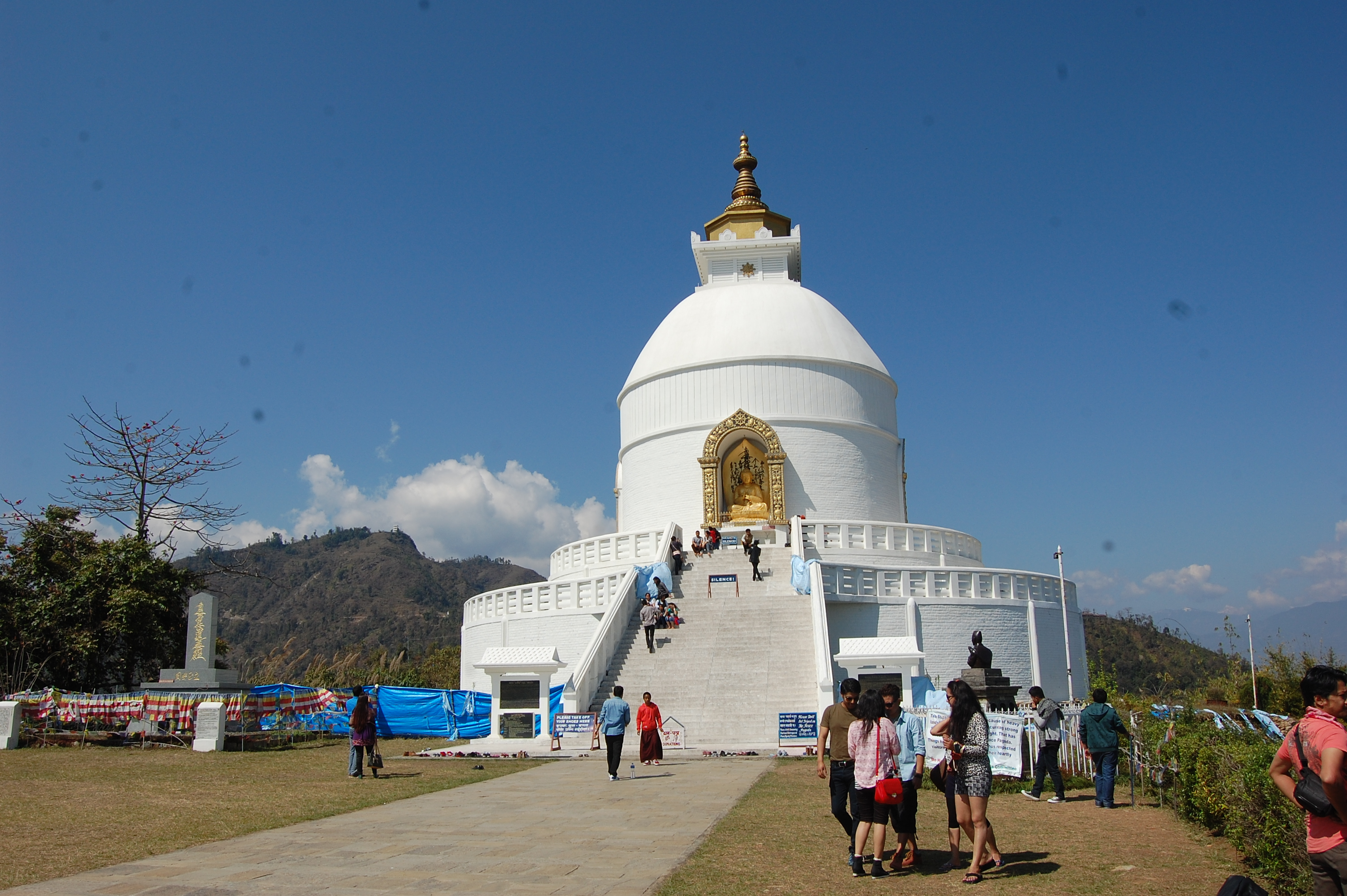 Peace Stupa Hiking