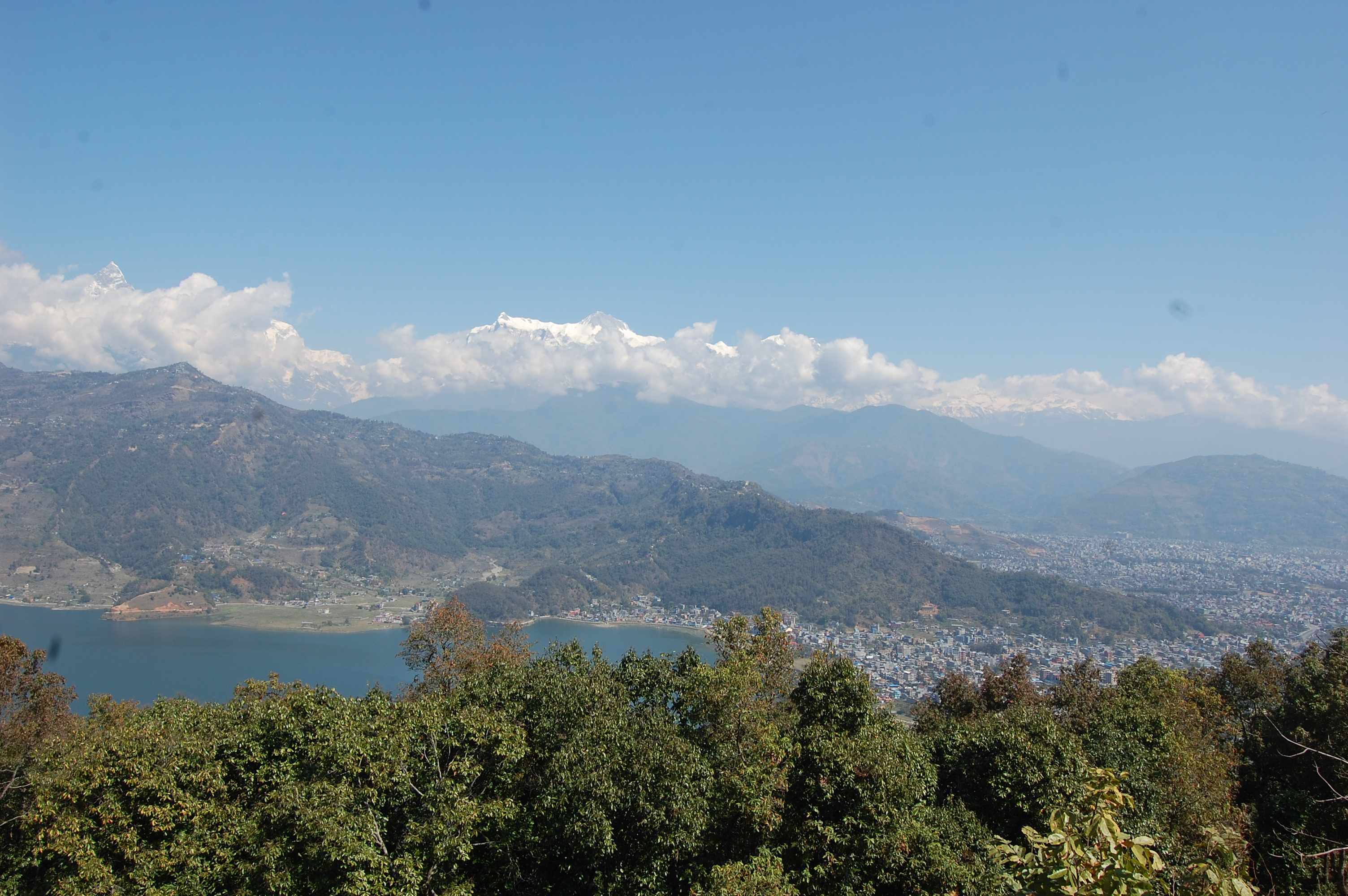 Pokhara Peace Stupa Hiking