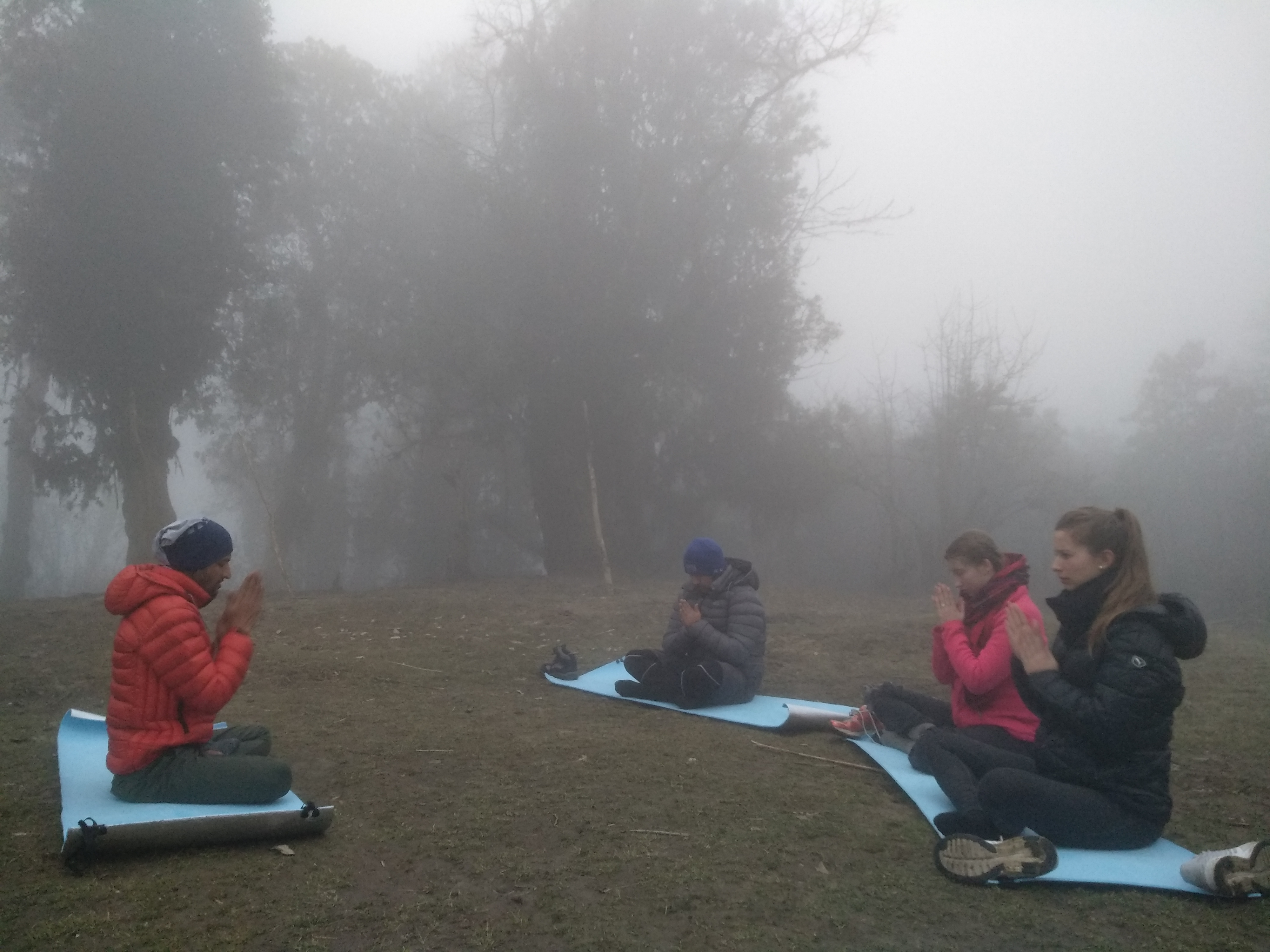 Yoga Trekking in Nepal